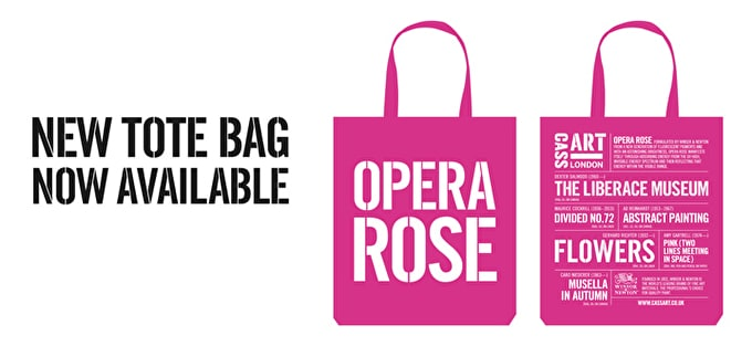 Opera Rose: New Tote Bag