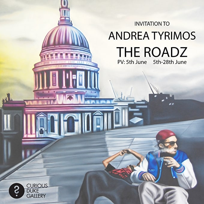Andrea Tyrimos: The Roadz at Curious Duke Gallery