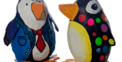 How To: Make A Christmas Paper Pets Penguin