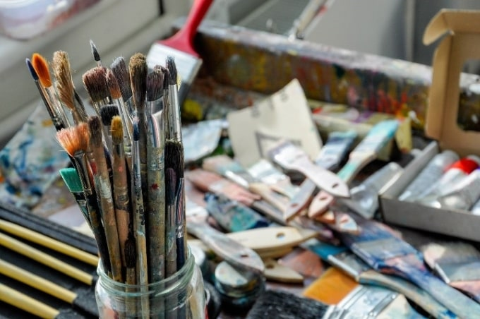 How To Choose The Right Paintbrushes