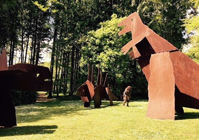 Dinosaurs Roam: Jake and Dinos Chapman at the Cass Sculpture Foundation