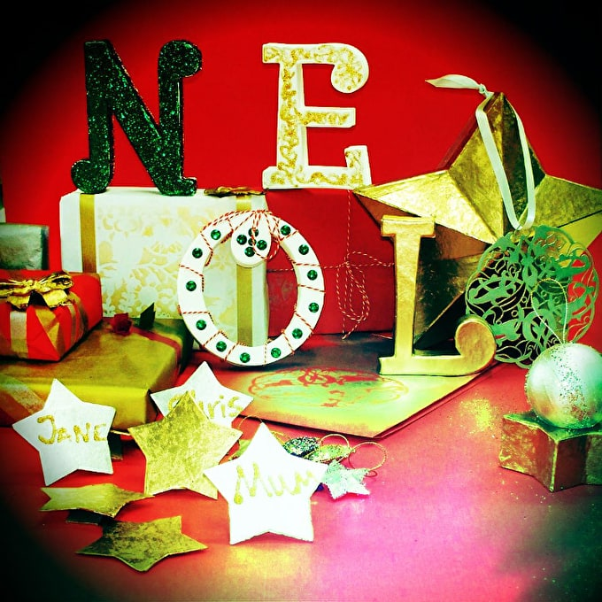How To: Make your own festive NOEL letters