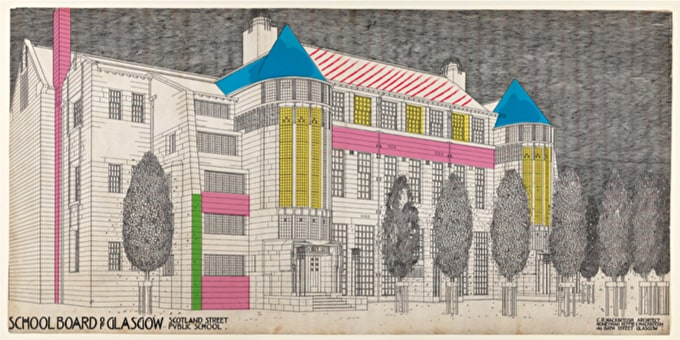 Design a Mackintosh Inspired Building to Win £200 of Art Supplies