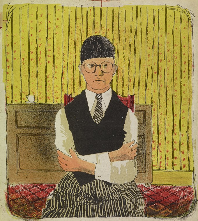 Past event: Hockney, Printmaker at Dulwich Picture Gallery