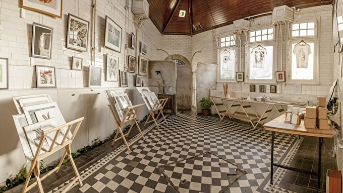 Bristol's Creative Spaces: The Edwardian Cloakroom and Control Room