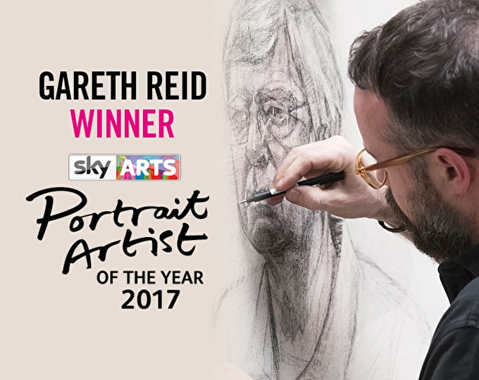 Gareth Reid Wins Sky Arts Portrait Artist of the Year 2017