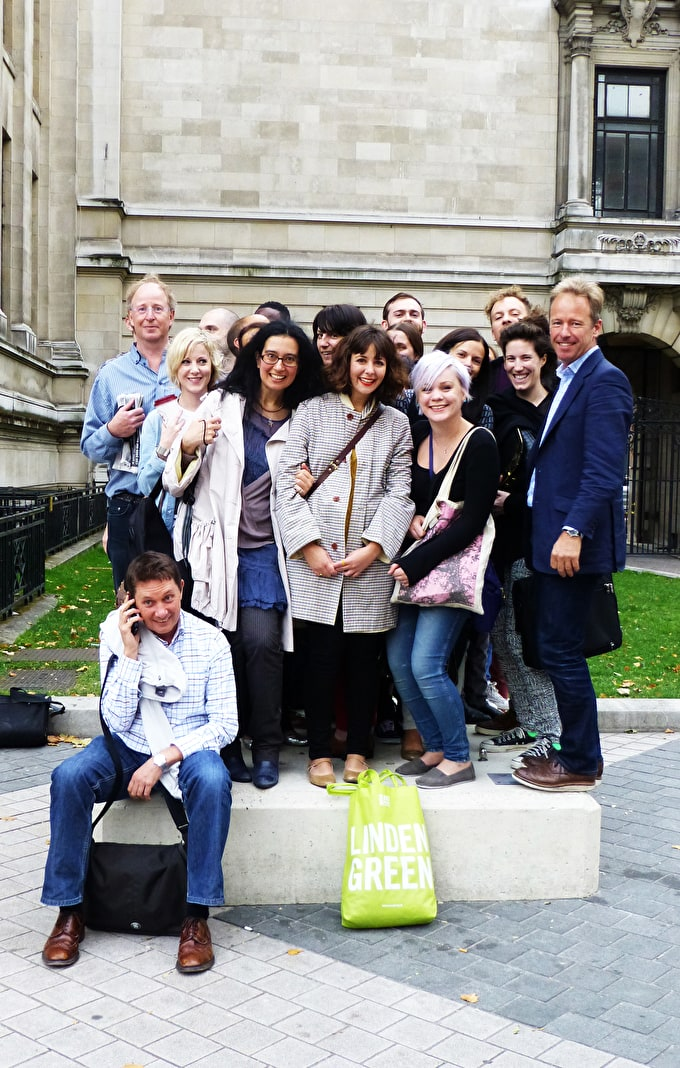 Past event: Staff trip to see Tony Cragg at Exhibition Road