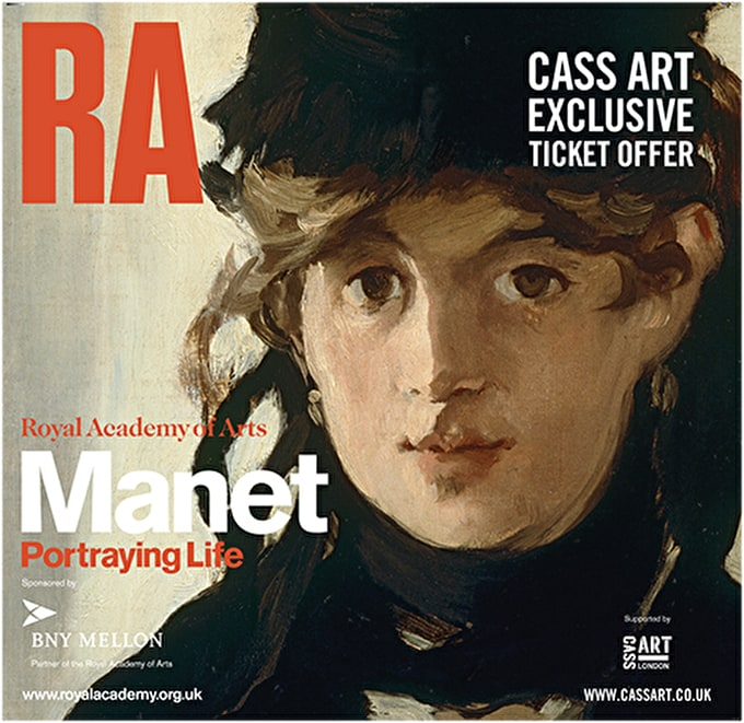 Exclusive ticket offer for Manet: Portraying Life at the Royal Academy of arts
