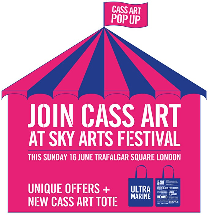 Past Event: Pop up store at Sky Arts