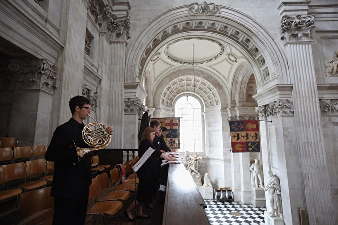 Exploring music and space at St Paul's