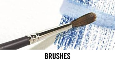 Our art paint brush range by our own brand is stocked online and in our art shops UK wide.