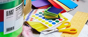 We stock a range of kids art supplies to help them start art!