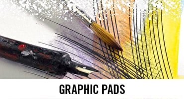 Graphics isn't just digital, we have a range of bristol pads, tracing paper pads and layout paper to help your designs.