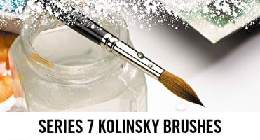Winsor & Newton Kolinsky brushes have been here since Queen Victoria and are known for their quality.