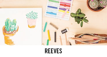 Reeves has recently launched their unleash your creativity campaign aimed at getting everyone painting and drawing.