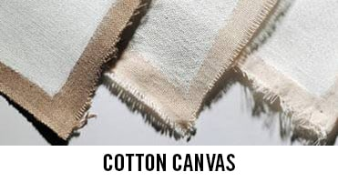 Cotton Canvas by the best brands for artists