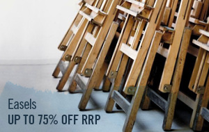 Easels for art studios, plein air painting or the kitchen table, available online at the best prices.