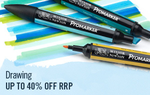 Drawing Markers, pens and pencils by top brands such as Derwent, Winsor & Newton and Copic available online and in stores.