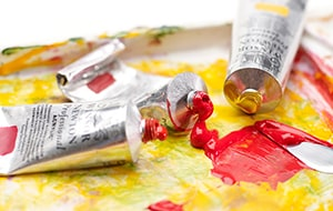 Acrylic paint is the most recent innovation in painting mediums, professional painting brands are available individually or in value paint sets.