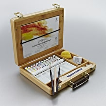 Winsor & Newton Professional Watercolour Bamboo Wooden Box