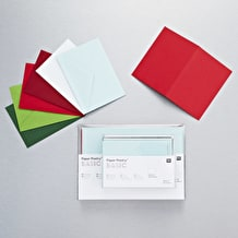 Rico Designs Basics SS Card Xmas A7 Assorted Colours Pack of 18