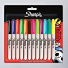 Sharpie Fine Permanent Marker Set of 12 Assorted Colours