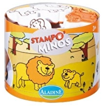 Aladine Savanna Rubber Stamp Set Extra Large