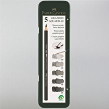 Faber-Castell Graphite Aquarelle Pack of 5
