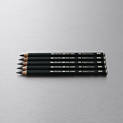 Faber-Castell 9000 Jumbo Pencils Pack of 5