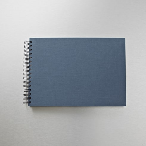 Seawhite Watercolour Hardback Book Grey Cover 350gsm 25 Sheets A4