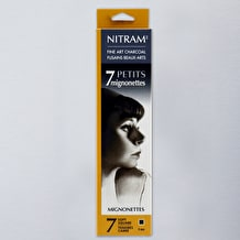 Nitram Baton Mignonette Charcoal Refills 4mm Pack of 7