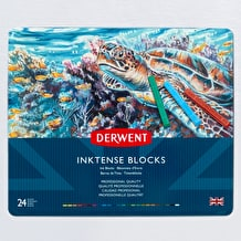 Derwent Inktense Block Tin Set of 24