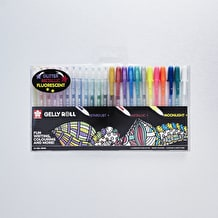 Sakura Gelly Roll Mixed Assorted Colours Set of 24