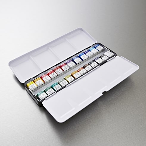 Winsor & Newton Professional Watercolour Set of 24 | Winsor & Newton | Cass Art