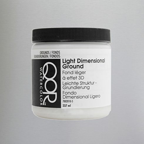 Golden QoR Watercolour Medium 237ml Light Dimensional Ground