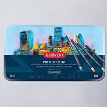Derwent Procolour Tin Set of 36