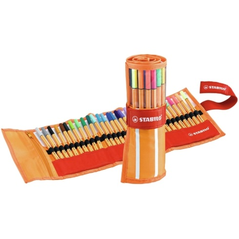 Stabilo Point 88 Rollerset of 30 Assorted Colours