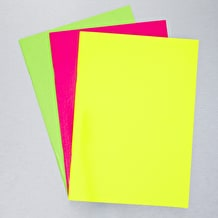 West Design Day Glo Laminated Sketchbook 20 pages 140gsm