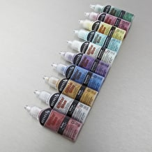 Reeves Oasis Glitter Glue Set of 10 18ml Assorted Colours