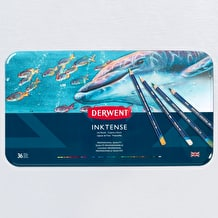 Derwent Inktense Pencil Tin Set of 36