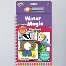 Water Magic Jungle Flip Colouring in Book by Galt