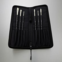Winsor & Newton Hog Artists' Oil Brush Wallet Cass Exclusive Set of 6