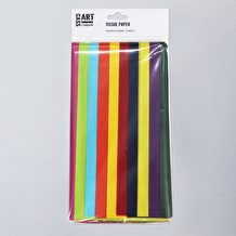 Cass Art Tissue Pack 20 Sheets Assorted Colours
