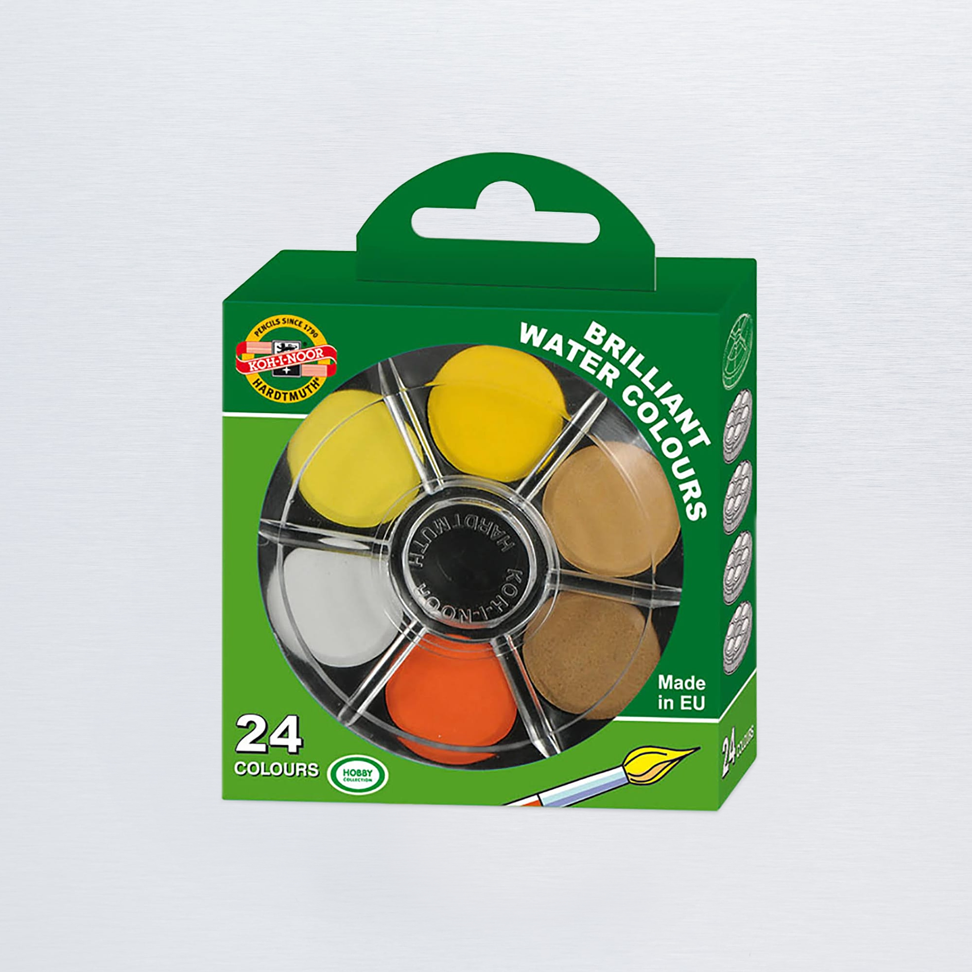 Koh-i-noor Brilliant Watercolours Set of 24