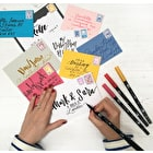 Learn to do Brush Lettering Design with Betty Etiquette at Cass Art Kensington, 21st April, 3.30 - 5pm