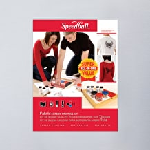Speedball Super Value Fabric Screen Printing Kit