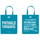 Cass Tote Bag Phthalo Turquoise