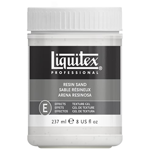 Liquitex Texture Gel Medium 237ml Resin Sand
