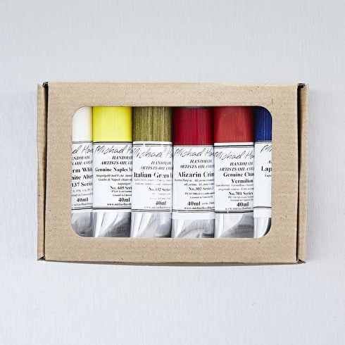 Michael Harding Masters 40ml Assorted Colours Set of 6
