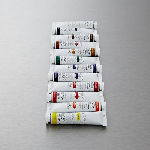 Winsor & Newton Artists' Oil Colour Set of 12 21ml | Oil Paint | Cass Art